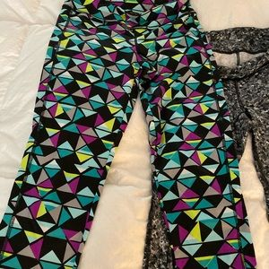 Aeropostale Live love dream leggings size medium
